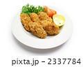揚げ物 カキフライ 牡蠣フライの写真 2337784