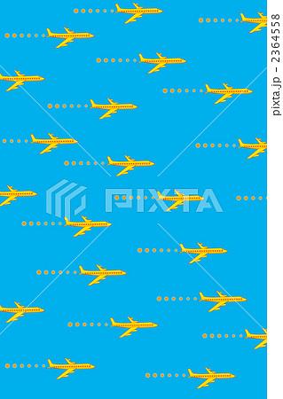 飛行機(水色バージン) 2364558