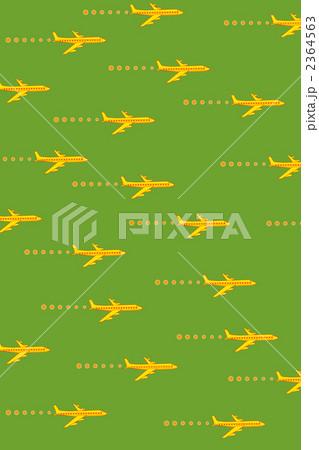 飛行機(黄緑バージン) 2364563