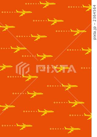 飛行機(赤色バージン) 2364564