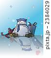 モコモコした雪だるま - fluffy snowman 2384029