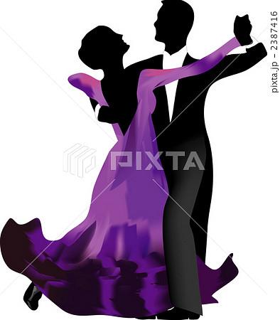 社交ダンス タンゴのイラスト素材 2387416 Pixta
