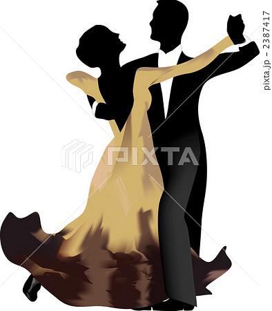 社交ダンス タンゴのイラスト素材 2387417 Pixta