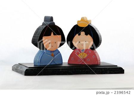 トールペイント ひな人形 ひな祭りの写真素材 [2396542] - PIXTA