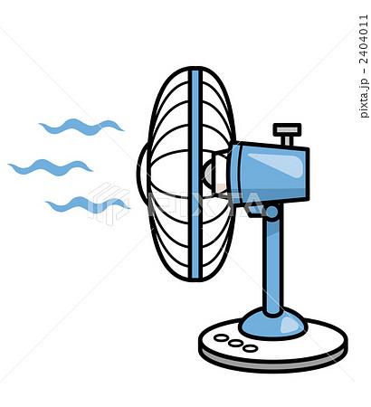 送風機 扇風機 電化製品のイラスト素材 2404011 Pixta