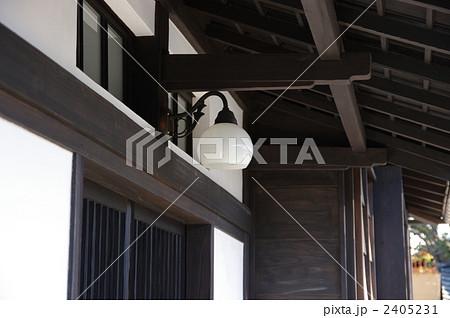 日本家屋の玄関灯 玄関灯 2405231