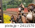 タヌキの置物 信楽焼 狸の写真 2411570