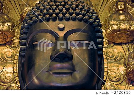 東大寺 奈良の大仏様の顔 2420316