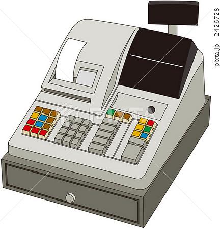 レジスターのイラスト素材 2426728 Pixta