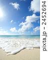 青い海 波 青空の写真 2452694