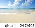青い海 波 青空の写真 2452695