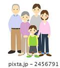 孫 両親 祖父母のイラスト 2456791