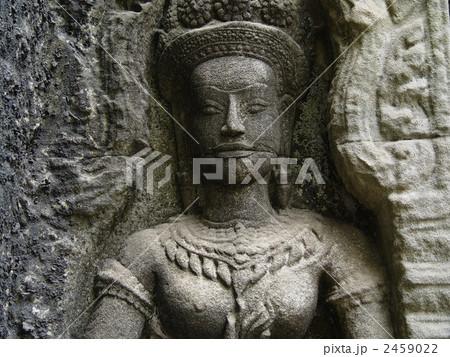 アンコール遺跡のデバダー(女神)(シェムリアップ/カンボジア) 2459022