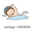 泳ぐ子供 2463654