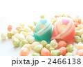 雛あられと和菓子の雛人形 2466138