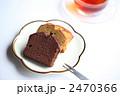 焼き菓子 パウンドケーキ ティータイムの写真 2470366