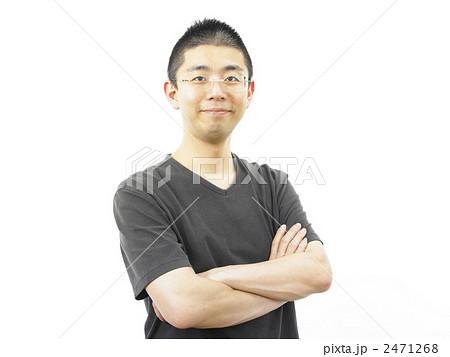 腕を組む男性の写真素材 [2471268 ... : 正月 福笑い : すべての講義