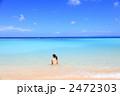 波照間島の海と水着の女性 2472303