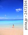 波照間島の海と水着の女性 2472304