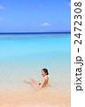 波照間島の海と水着の女性 2472308