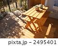 ガーデンテーブル ガーデンファニチャー テーブルの写真 2495401