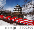 雪の弘前城 2499899