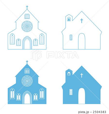 教会チャペルのイラスト素材 2504383 Pixta