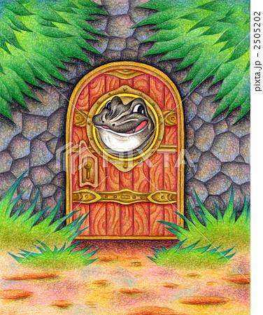 蛙がいる扉 2505202