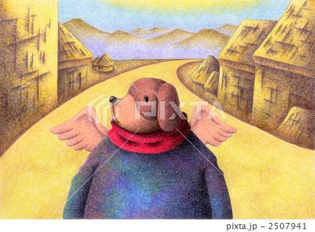 Angel Dog - 田舎道 2507941