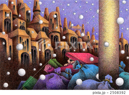 Snow Cat - 雪降る街 2508392