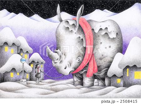 SFイラスト - 雪国の友達 2508415