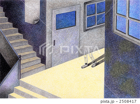 SFイラスト - 誰もいない教室 2508417