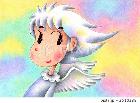天使のイラスト - 虹色天使 2510338