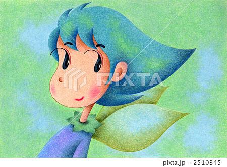 天使のイラスト - 葉っぱ天使 2510345