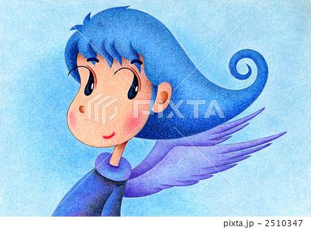 天使のイラスト - 青空天使 2510347
