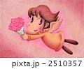 メルヘン 色鉛筆画 天使のイラスト 2510357