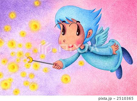 天使のイラスト - 願い事 2510365
