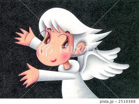 天使のイラスト - 白い天使 2510368