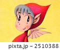 悪魔 色鉛筆画 子供のイラスト 2510388