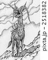 獣 鹿 動物のイラスト 2518382