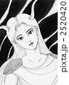 デーモン 女性 鬼のイラスト 2520420