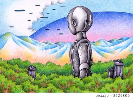 降り立ったロボット 2529309