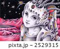 宇宙人 エイリアン 女性のイラスト 2529315