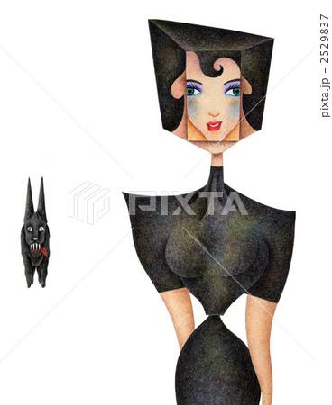 黒衣の女 2529837
