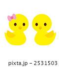ひよこ ヒヨコ ひなのイラスト 2531503