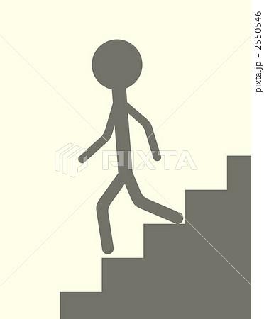降りる 階段 を 下りる
