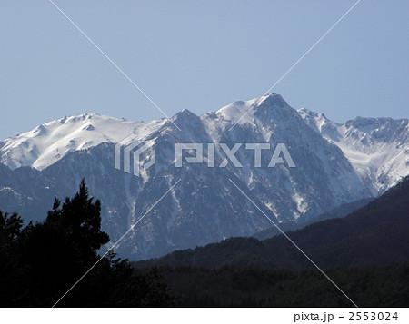 空木岳と赤椰岳(3)の写真素材 ...