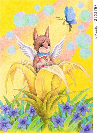 花から生まれた猫 2553767