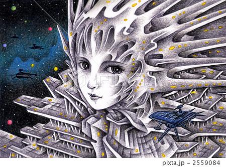 宇宙港の女神 2559084