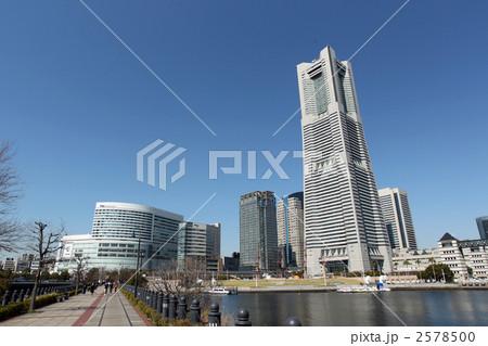 汽車道からの横浜ランドマークタワー 2578500